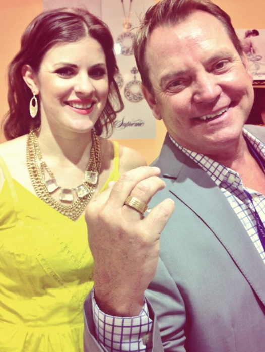 CEO, Frank Proctor, and Managing Director, Jen Cullen Williams jeweled in Supreme Jewelry.