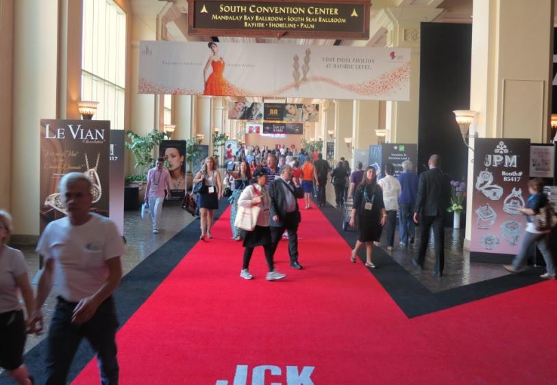 JCK Las Vegas. Photo Courtesy of Diamonds.net