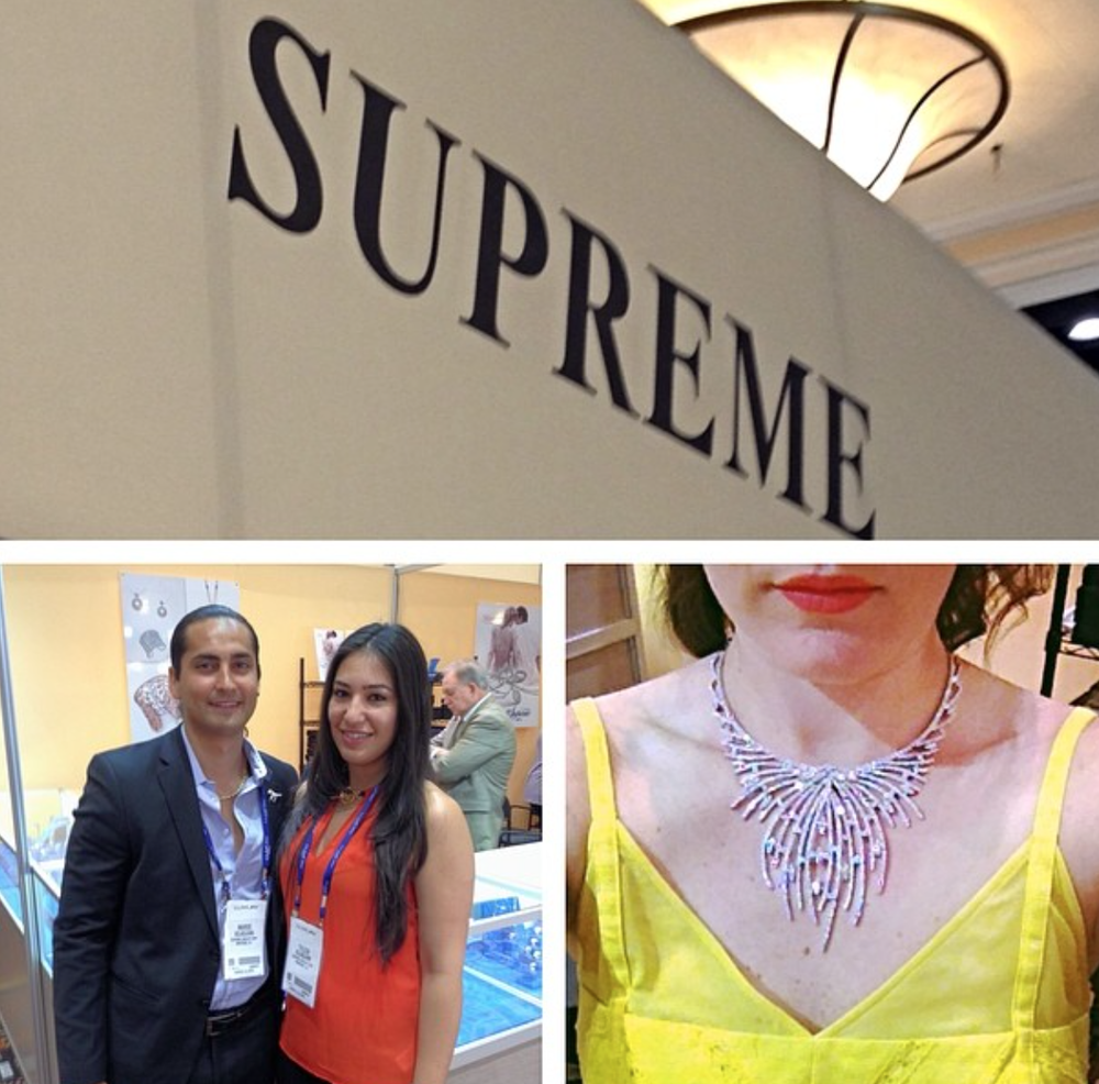 Supreme Jewelry booth at JCK LUXURY.