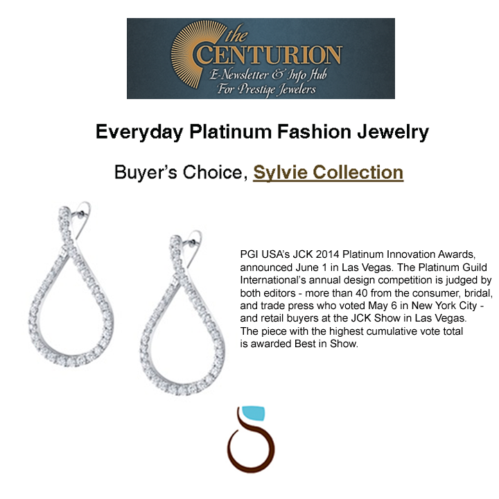 "Congrats to Sylvie Collection for winning the PGI ""Buyers Choice Everyday Platinum Fashion"" award!"