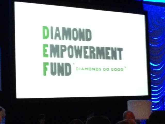 "Diamond Empowerment Fund ""Diamonds in the Sky"" Dinner & Auction at the Four Seasons Hotel on Thursday, May 29."