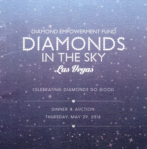 Diamond Empowerment Diamonds in the Sky at the Four Seasons Hotel.