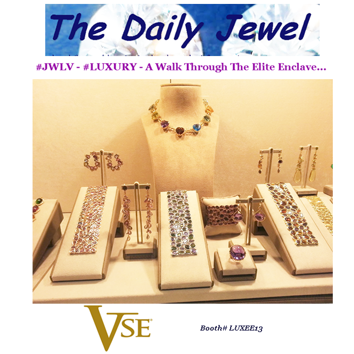 Check out Victoria Tse's stunning new jewels showcased during JCK Luxury! See the feature on The Daily Jewel.