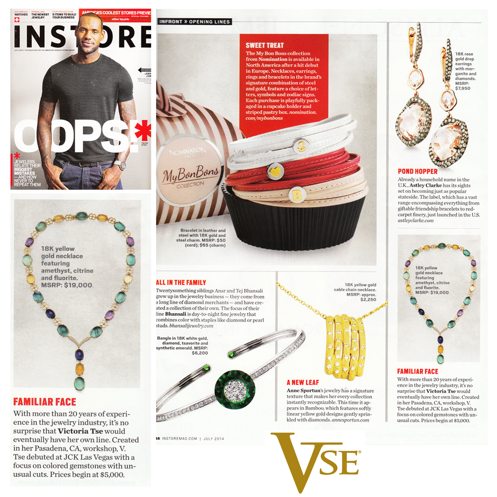 This Victoria Tse Yellow Gold necklace is absolutely stunning! Check it out in the July issue of INSTORE Magazine!