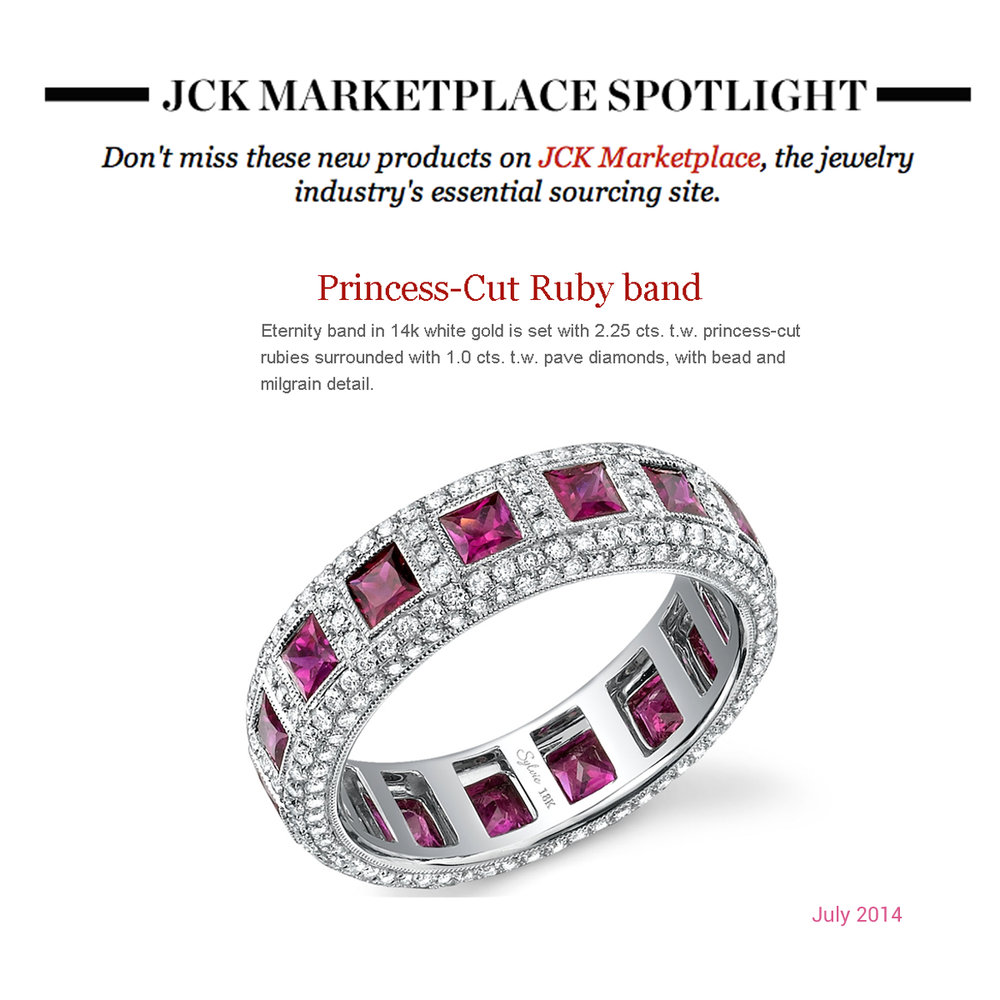 Both Supreme Jewelry and Sylvie Collection took the spotlight in this week's JCK Marketplace newsletter!