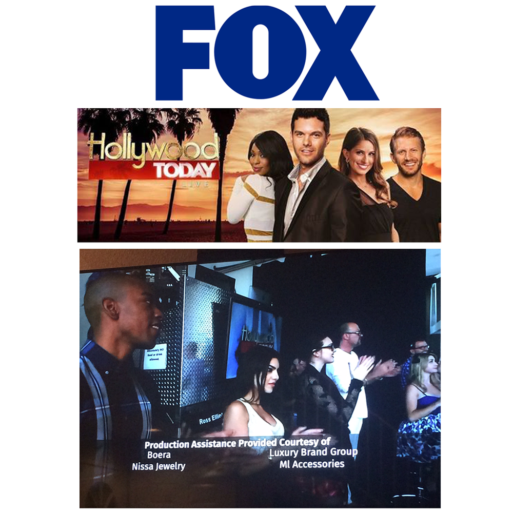 "This week, the hosts of the new FOX Morning Show, ""Hollywood Today Live"", wore beautiful jewels provided by LBG."