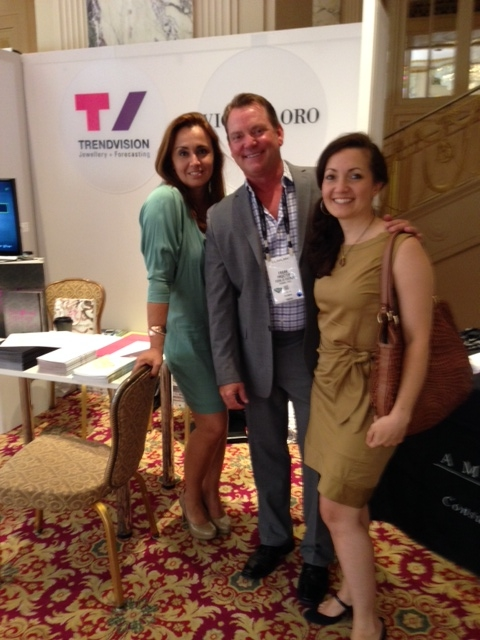 LBG's CEO, Frank Proctor, Andrea Hansen and Nazly from Ceverhun spotted at the NY Prive Show in the Waldorf Astoria!