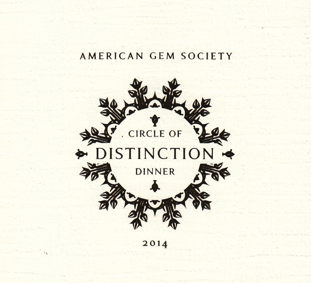 """American Gem Society's """"Circle of Distinction"""" Awards Dinner took place at the Plaza Hotel in the Big Apple!"""