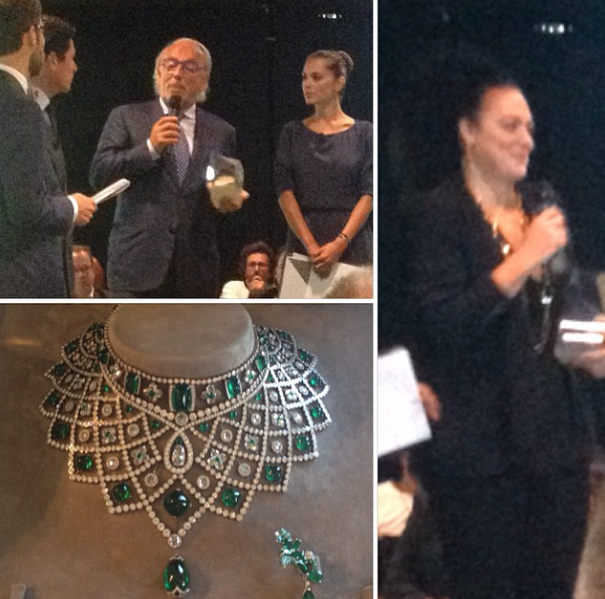 "Bravo to all the winners of the ""Andrea Palladio International Jewellery Awards""!"