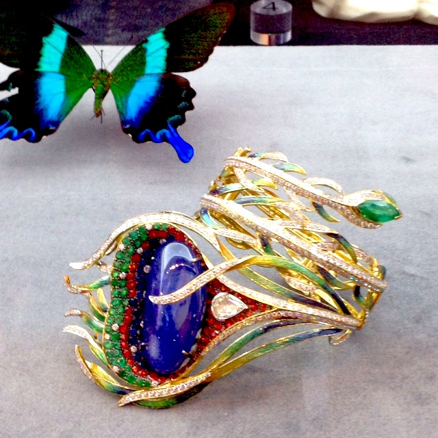 A stunning cuff featured at the TrendVision exhibit.
