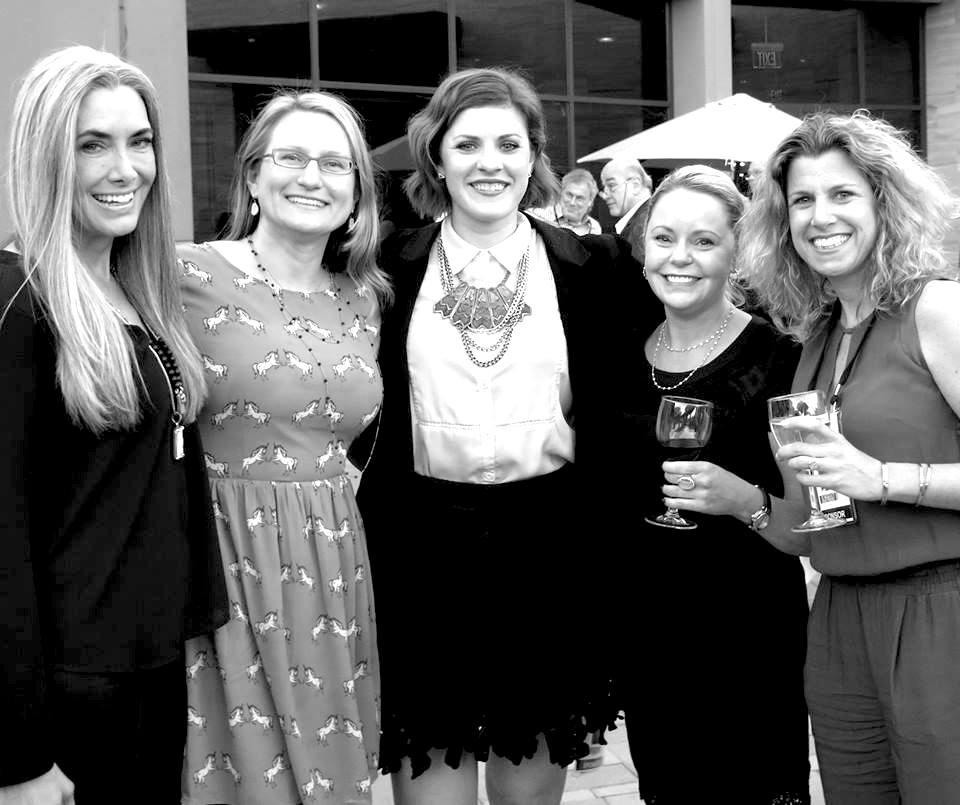 Our very own Managing Director, Jen Cullen Williams (center) introduces us to theselovelyeditors(left to right): Manon Crespi (Eclat International Magazine), Jennifer Heebner (JCK Magazine), Heather Hanson (Elite Traveler) & Brandee. Dallow (Rio Tinto).