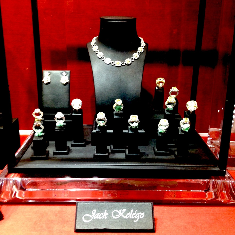 How gorgeous are these fine jewelry pieces from Jack Kelege's brand new collection?