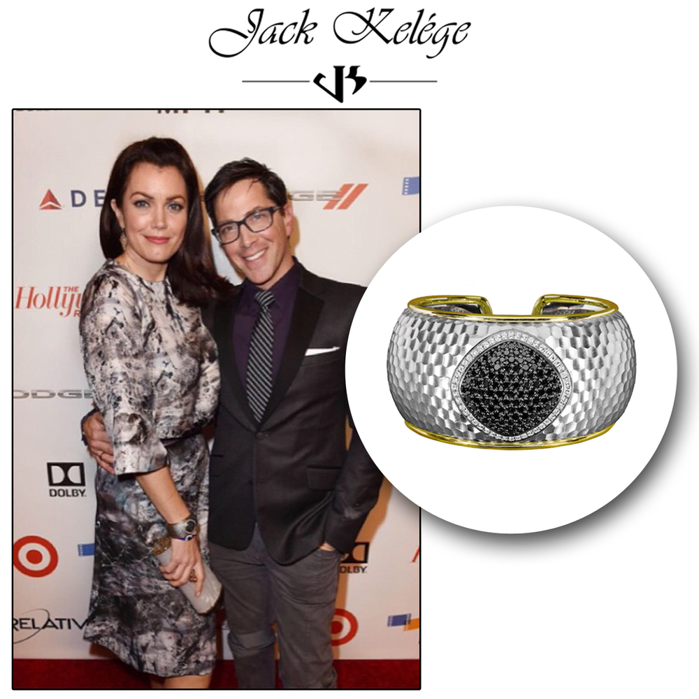 The scandal-icious Bellamy Young looks absolutely stunning in a Jack Kelege statement ring!