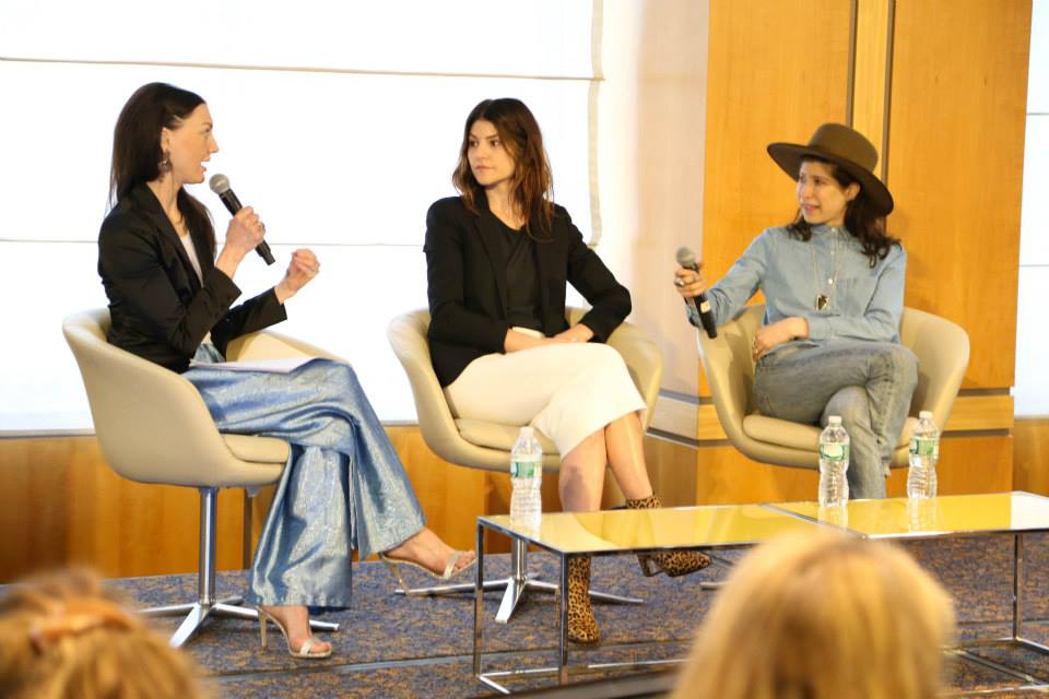 An inspiring, fun panel discussion with Pamela Love of Pamela Love NYC, Laura Freedman ofBroken English Jewelry, and Helena Krodel of Luxe Intelligence.