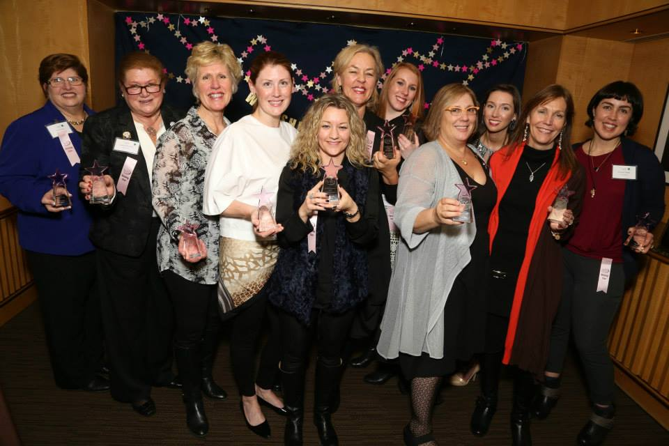 """The informative conference was followed by """"In The Spotlight"""", which is the association's celebration of the Shining Starsof the year! Congratulations to all of these hard-working, motivated ladies!"""