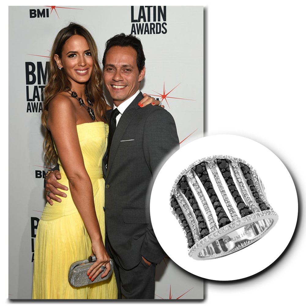 The blonde and ever so beautiful, Shannon De Lima, shines as bright as the summer sun in a white gold and diamond Royal Jewelry ring!