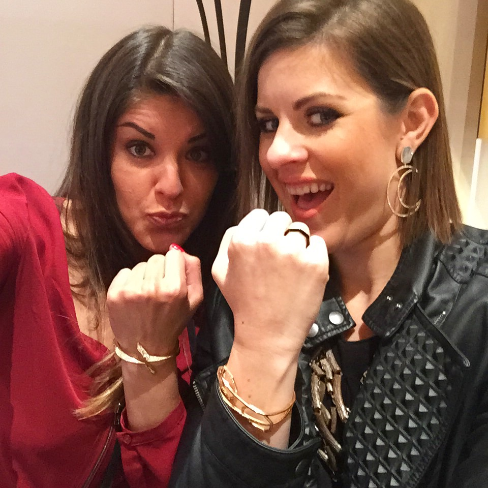 LBG's Senior Account Executive, Arlene Guerrero, and Managing Director, Jen Cullen Williams, swear they're working...just having some fun while doing so!