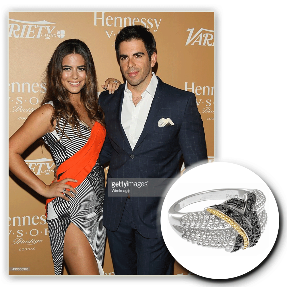 Lorenza Izzo gives the celebratory event for Latinos a run for their money as she graces the red carpet in a Phillip Gavriel statement ring!