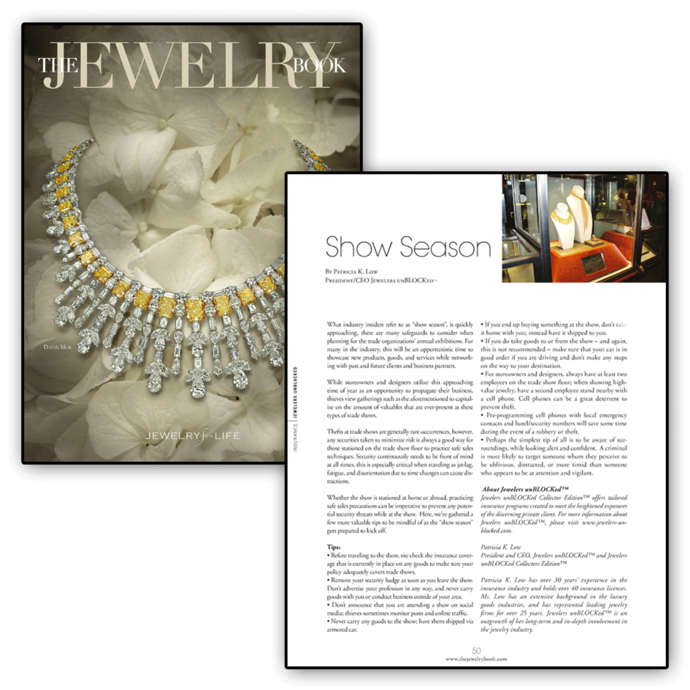 Check out this article about Jewelers unBLOCKed being featured in The Jewelry Book.
