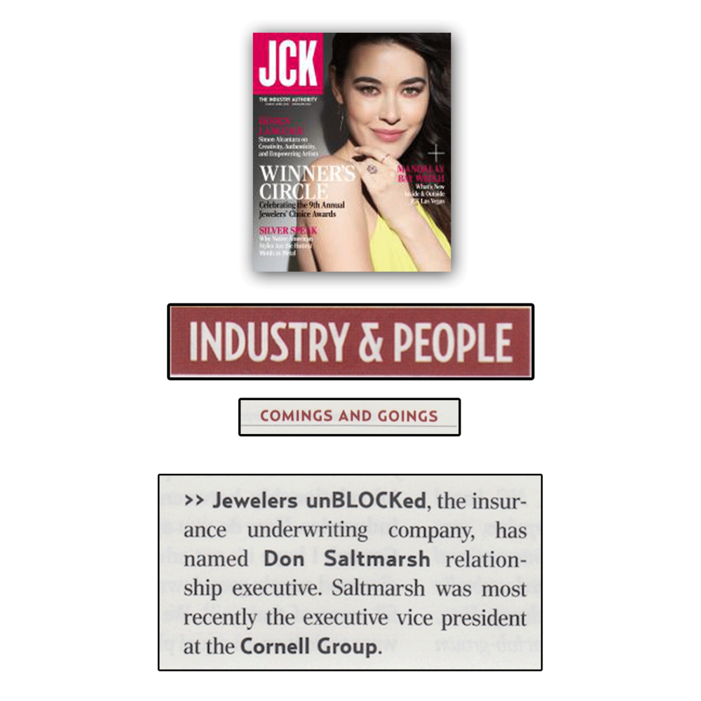Keep up-to-date on industry news with JCK Magazine!