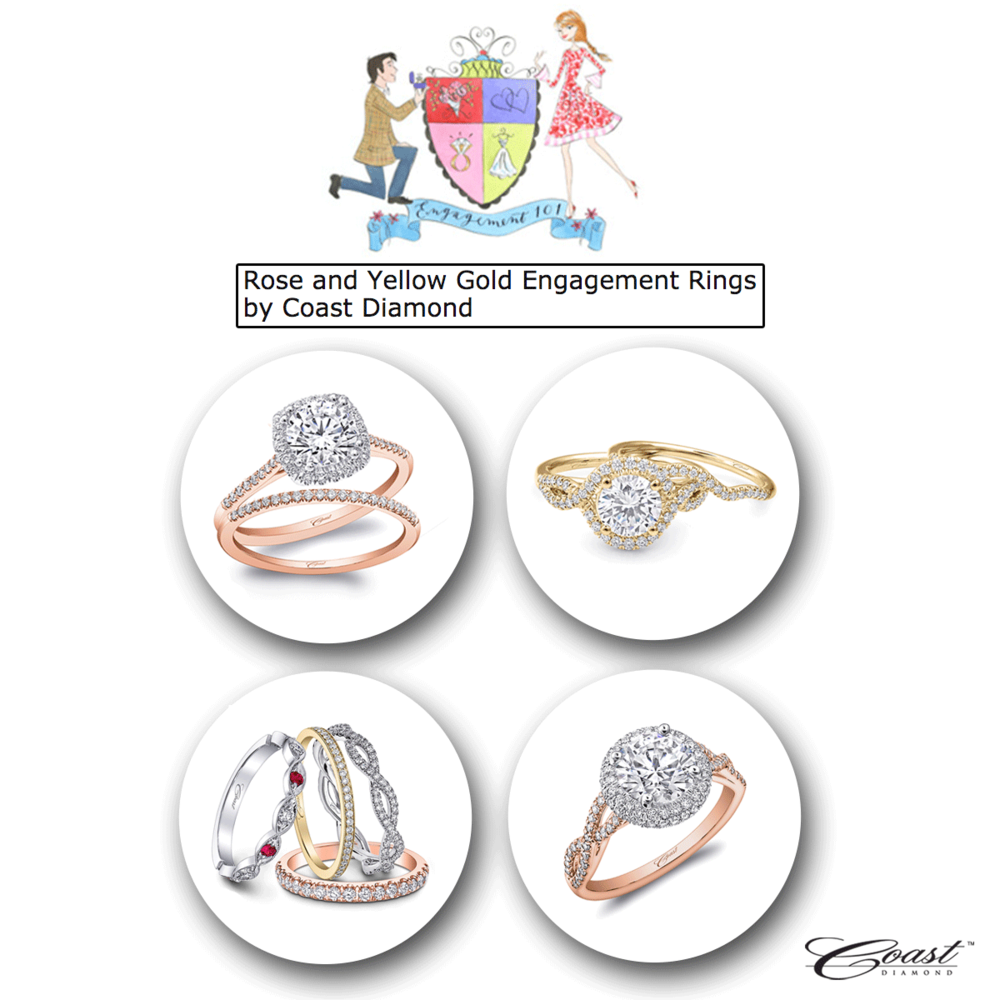 Who doesn't love a wide selection of engagement rings and wedding bands to choose from? Coast Diamond has the answers to all of your proposal needs, don't you worry!