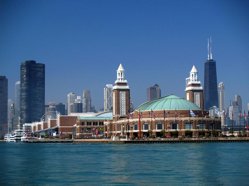 As promised, here's the ever-so-breathtaking Navy Pier, where INSTORE's Smart Jewelry Show was hosted! There's obviously a reason we didn't want to come back...