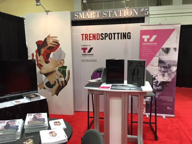 SPOTTED: TrendVision's booth at the Smart Jewelry Show was futuristic in its craft, and definitely one to remember!