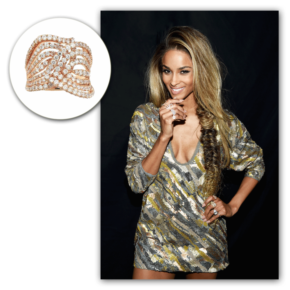 Look at Ciara slay in Supreme Jewelry - it doesn't get any better than this!