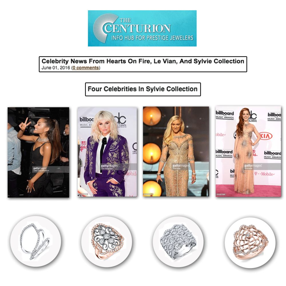 So many celebs sparkled in Sylvie Collection at the BBMA's!