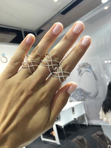 Sylvie Collection never fails to showcase unique,on-trend designs.