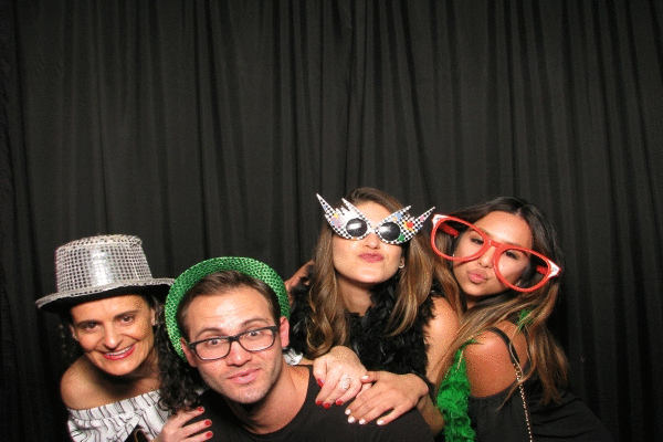 The LBG team getting silly with CEO and designer, Sylvie Levine of Sylvie Collection.