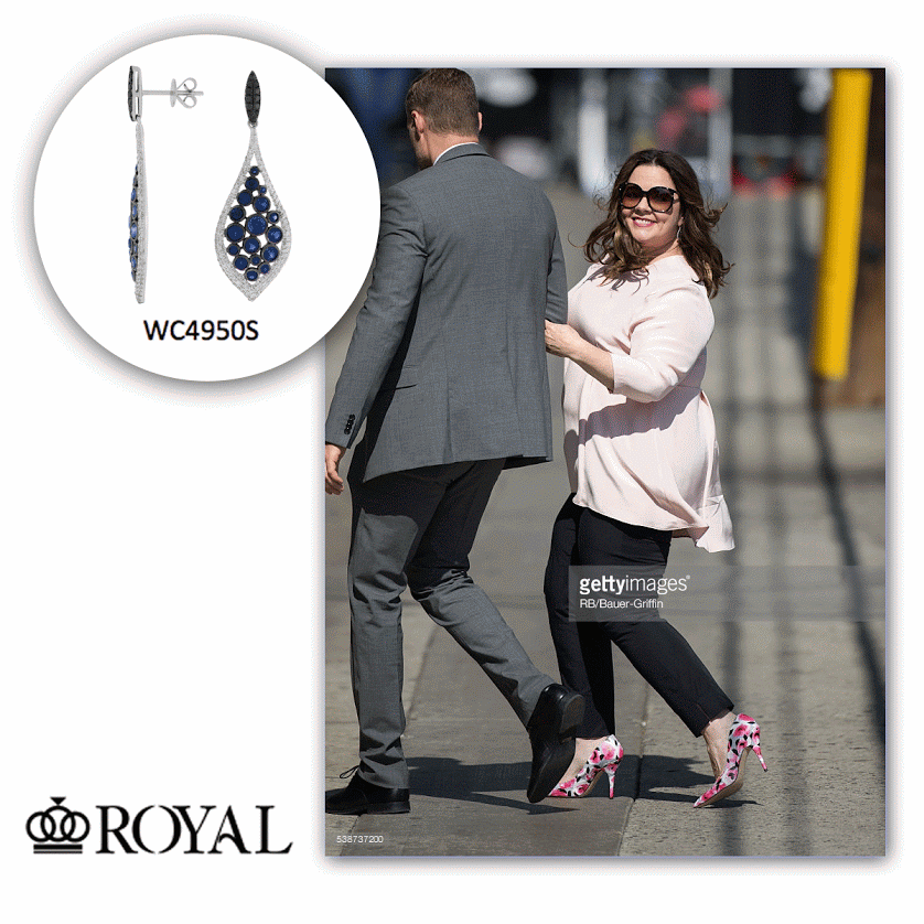 How beautiful does Melissa McCarthy look in Royal Jewelry?