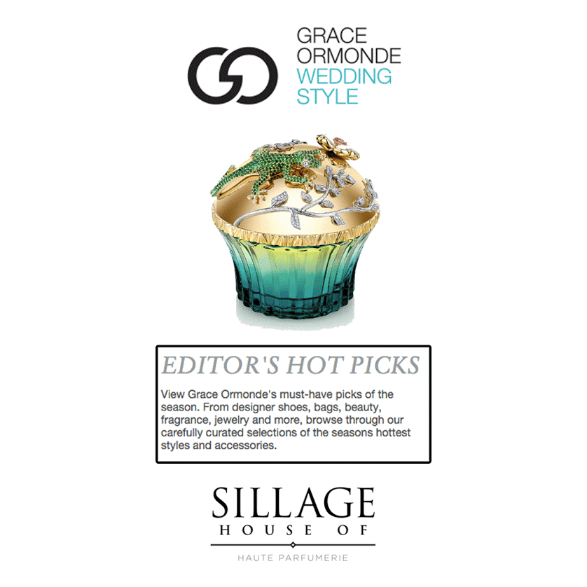 We're excited about our favorite exotic fragrance from House of Sillage... and so is Grace Ormonde!