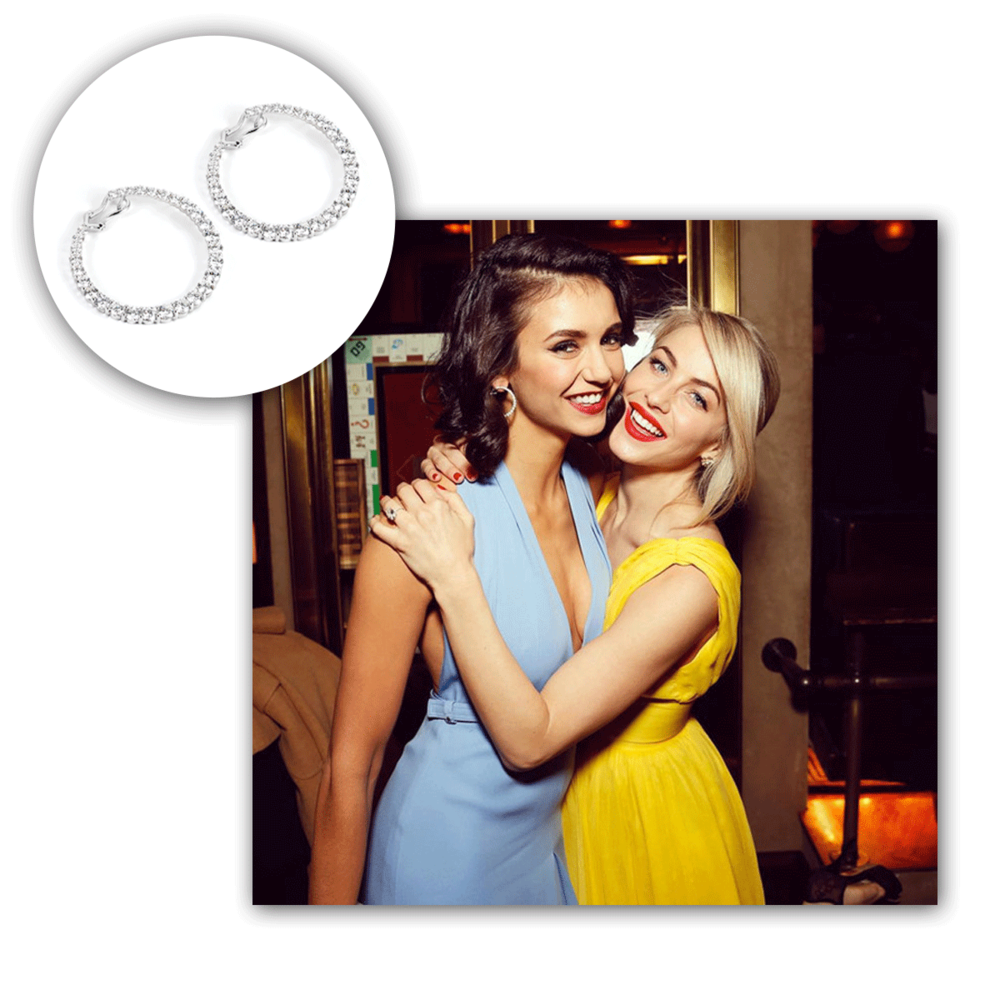We were so excited to see Nina Dobrev wore Supreme Jewelry earrings to her birthday extravaganza!