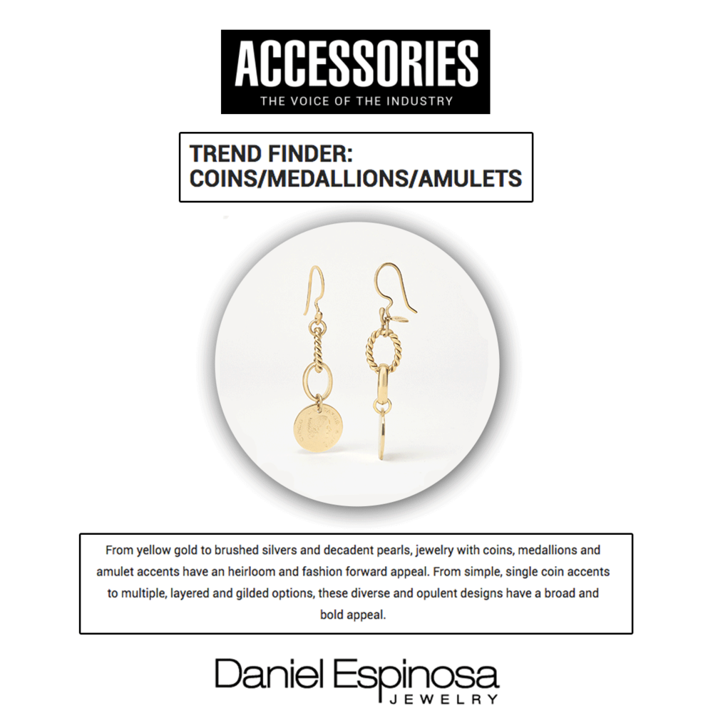 These earrings from Daniel Espinosa are sure to turn heads.