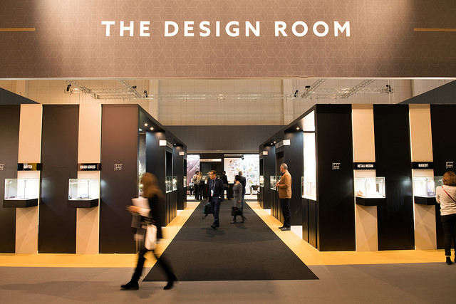 Exploring the new section at the show: The Design Room