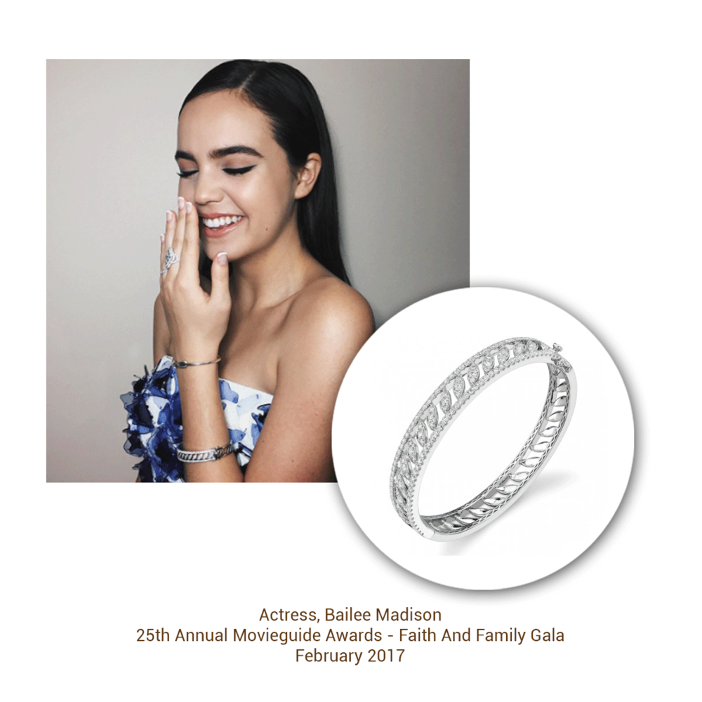 Bailee Madison looks gorgeous in this bangle from the Sylvie Collection