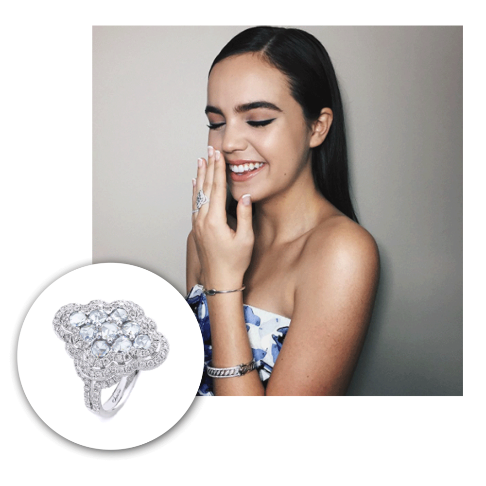 Bailee Madison is also wearing a Supreme ring for the 25th Annual Movieguide Awards