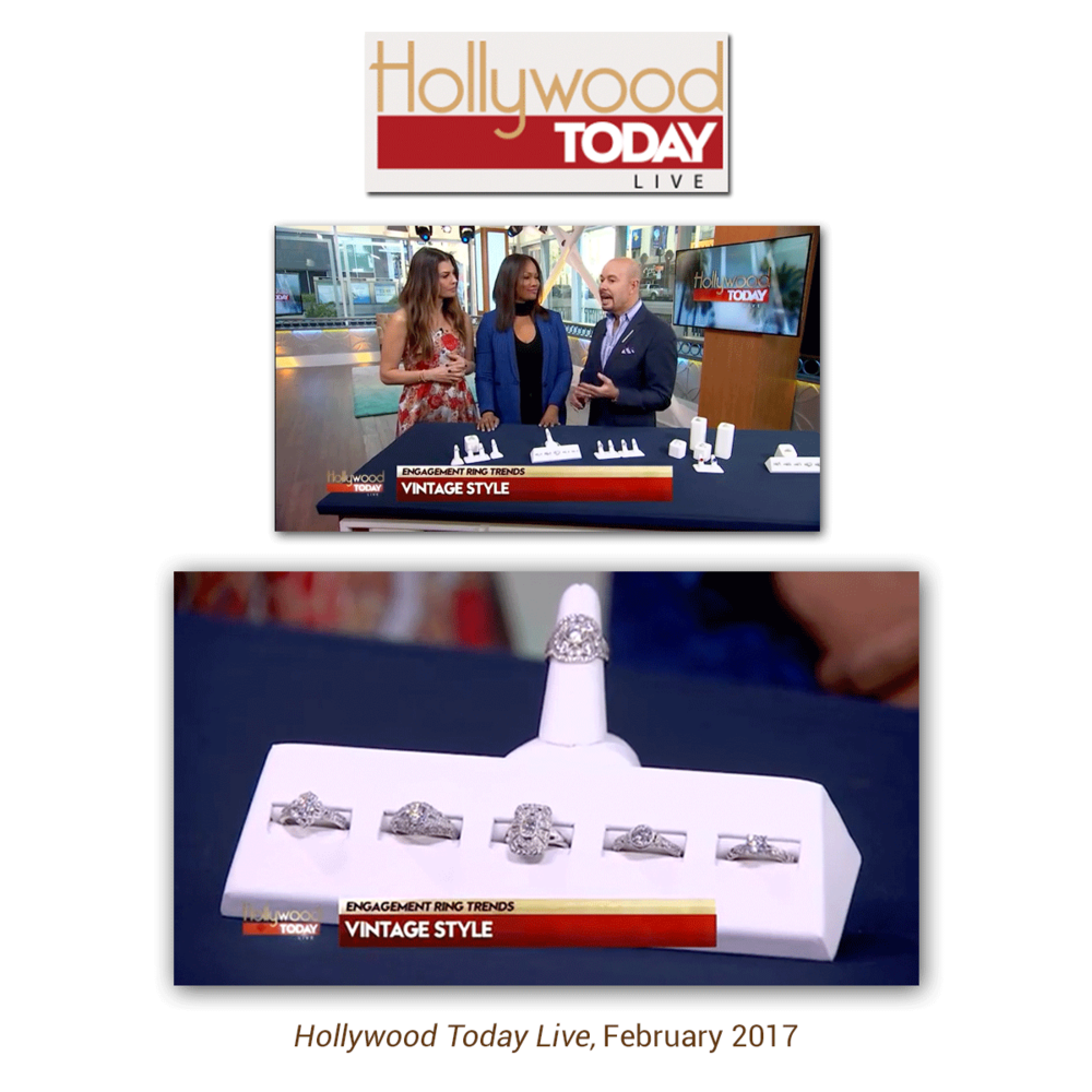 The Sylvie Collection was also featured on Hollywood Today Live !