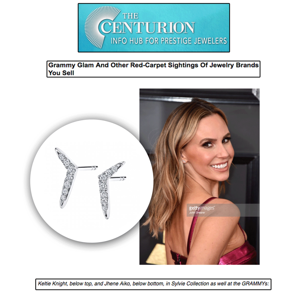 And of course the Centurion would notice how beautiful she looked in the Sylvie Collection this past week!