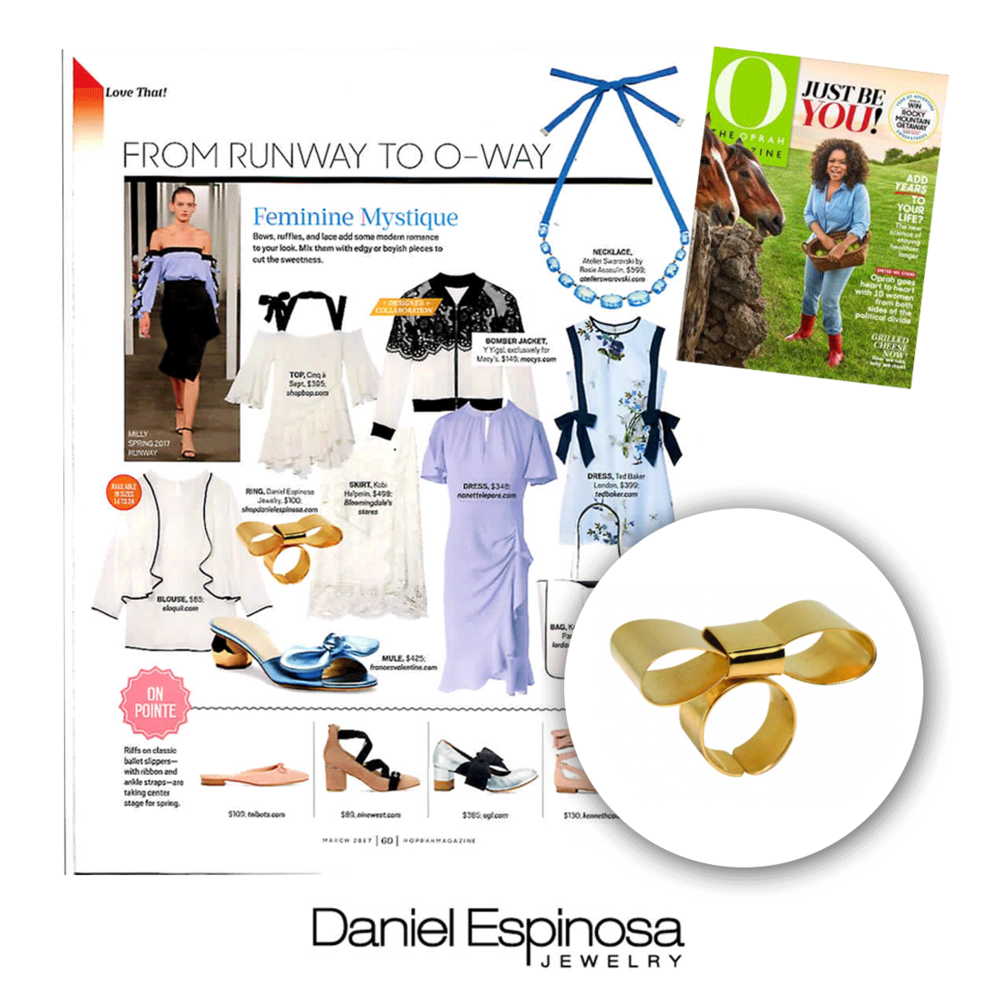 We're still stoked to see that Daniel Espinosa was featured in O the Oprah Magazine!