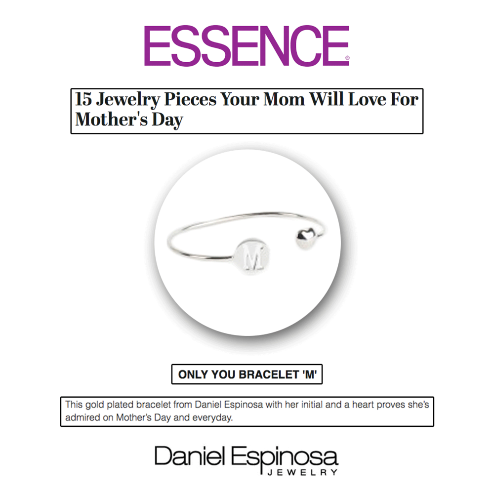 What better way to tell your mom you love her this Mother's Day than with the Only You M bracelet from Daniel Espinosa?