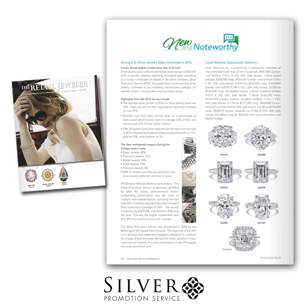 SPS also got some love from Retail Jeweler this month!