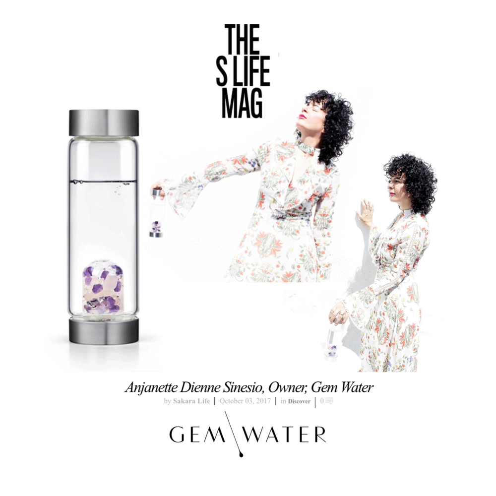 The S Life Mag sat down with Gem Water owner, Anianette Dienne to talk about how she is transforming hydration into the most chic, healing experience possible.