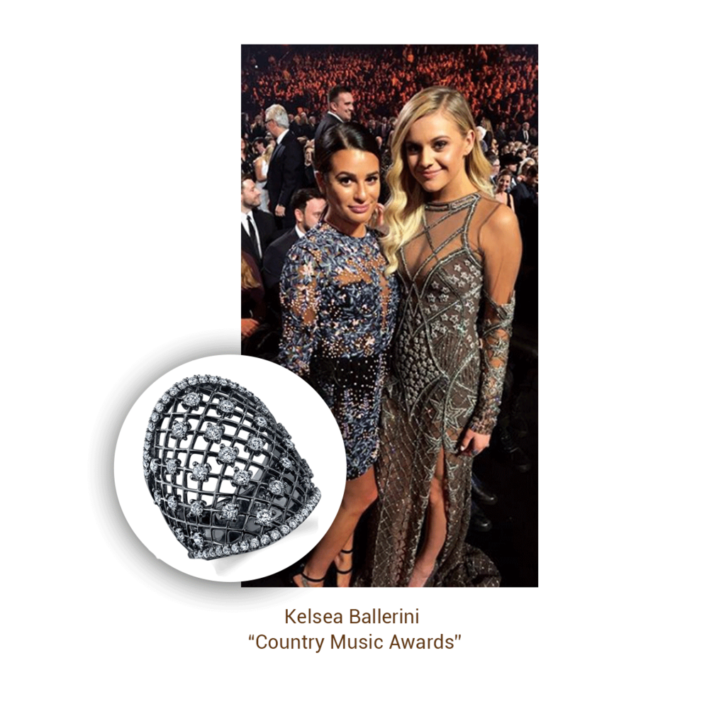 Kelsea Ballerini wore Sylvie Collection during her Country Music Awards performance.