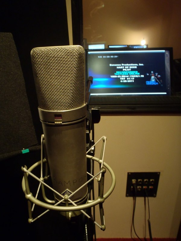 Audio Post (ADR) For Television