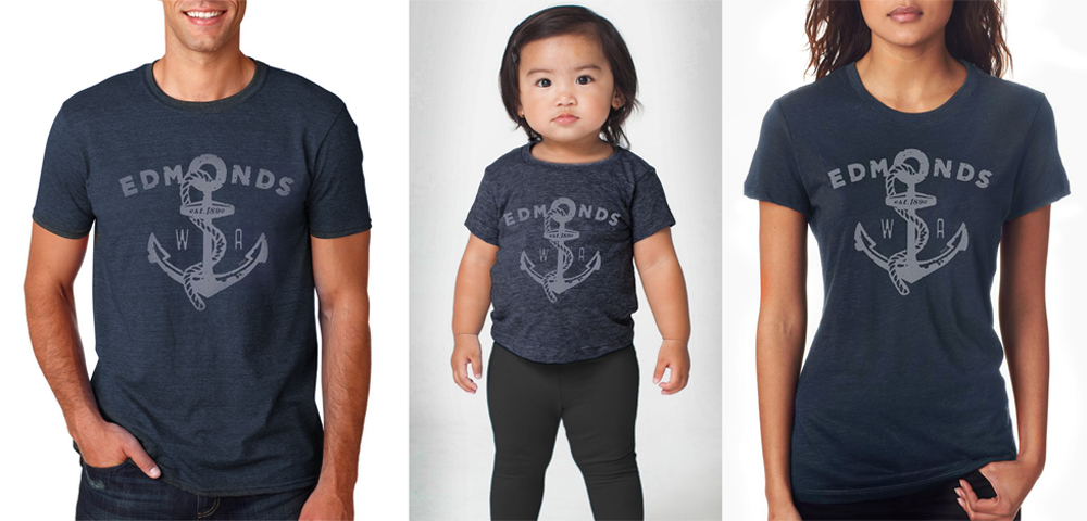 Edmond's T-shirts for Men Women and Children!