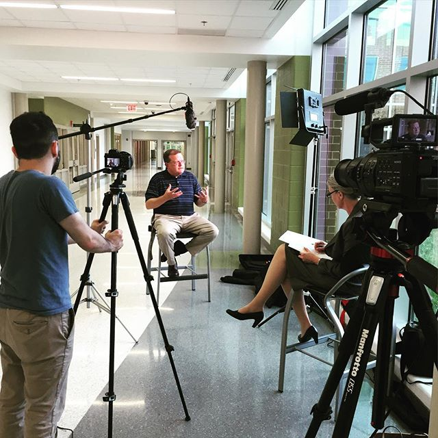 Just wrapped up filming the story of Louisa County High School for Grimm and Parker architects. Can't wait to unveil their incredible story.