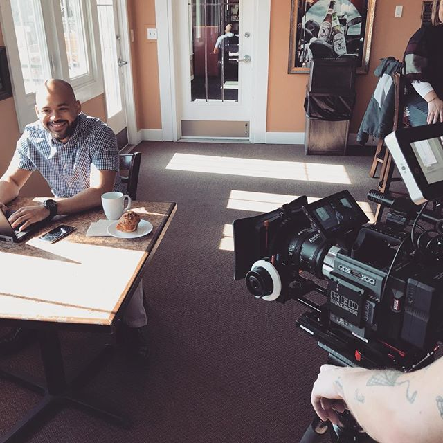 Shooting with the new KOWA anamorphic lens for DAVIS Construction's campaign video series.