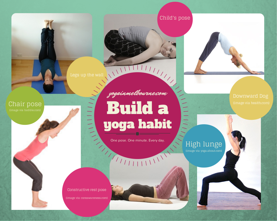 Build a yoga habit